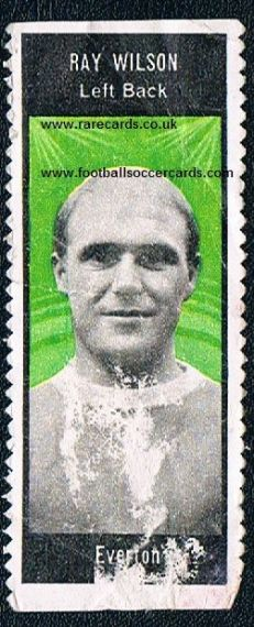 1966 A&BC  stamp Ray Wilson Everton